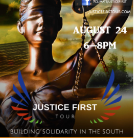 Justice First Tour Stop in Atlanta, GA on August 24, 2018
