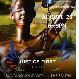 Justice First Tour Stop in Atlanta, GA on August 25, 2018